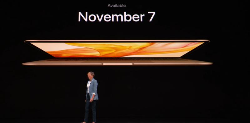 新型MacBook Airの発売日