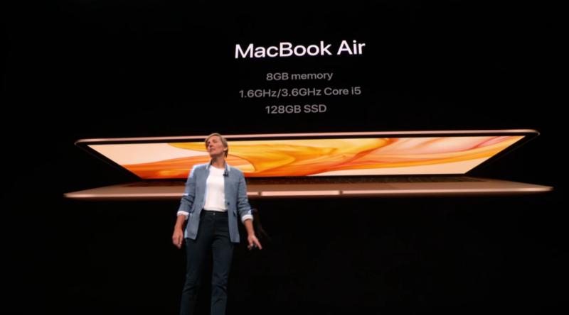 新型MacBook Airのスペック概要