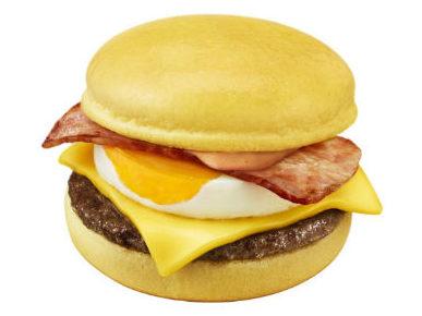 マクドナルドの月見バーガーシリーズに「金の月見バーガー」が新登場!