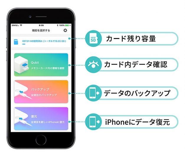 「400-ADRIP010W」の専用アプリ