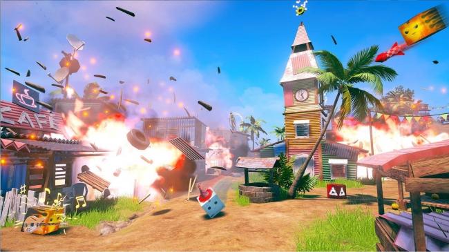 「Unbox: Newbie's Adventure」のプレイ画面