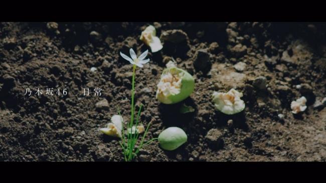 「日常」のミュージックビデオのタイトルシーン