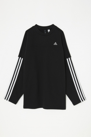 W OVERSIZED SWEAT MSY(BLK)