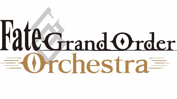 「Fate/Grand Order Orchestra Concert performed by 東京都交響楽団」のロゴ