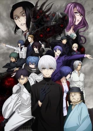 TVアニメ「東京喰種トーキョーグール:re」が10月9日放送開始!新情報も発表