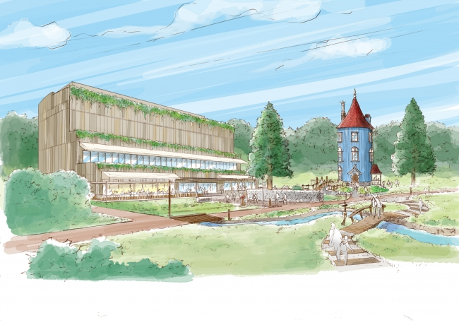 物語を追体験できる「ムーミンバレーパーク」が2019年3月オープン決定