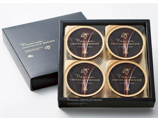「プレミアムチョコレートムース」のパッケージ