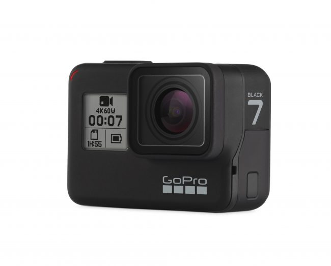 GoProがフラッグシップモデルのアクションカメラ「HERO7 Black」を発表!
