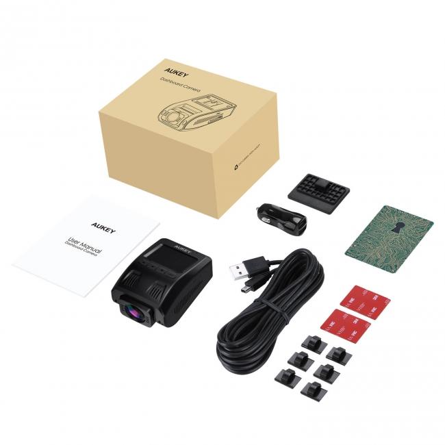 「ドライブレコーダーDR02」の付属品