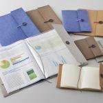 キングジム、新シリーズ「クラフト」からファイルカバーとノートカバーを発売!