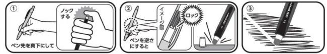 「ユニボール R:E」のロック機構
