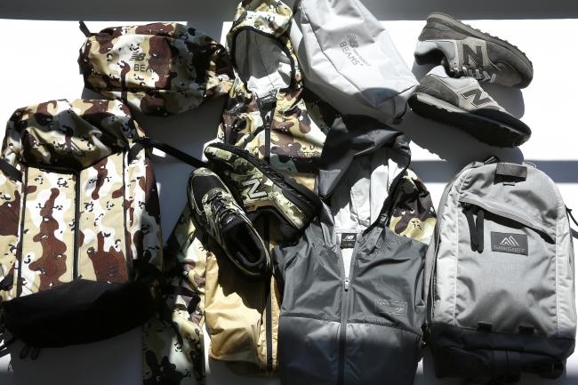 ニューバランスが「グレゴリー」「ビームスプラス」とコラボ!シューズやジャケットを発売