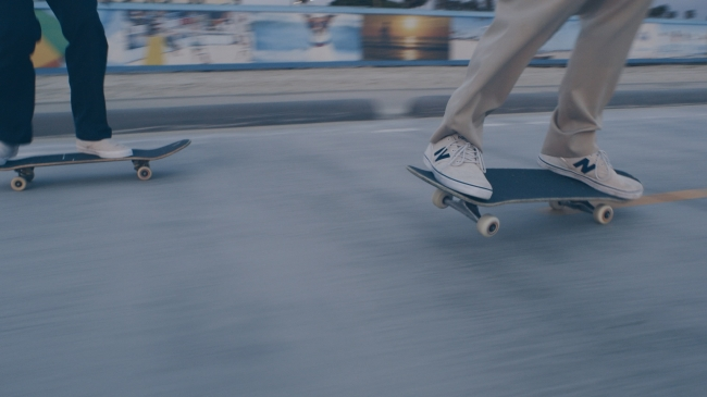 ニューバランスの「SKATE STYLE(スケートスタイル)」のスケートのイメージ