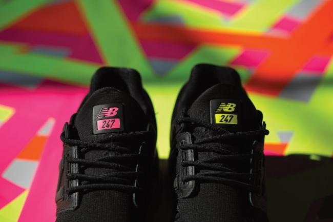 「MS247v2」直営店限定カラーの左右で色が違うタンラベル