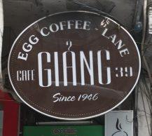 ハノイにある「CAFE GIANG」本店