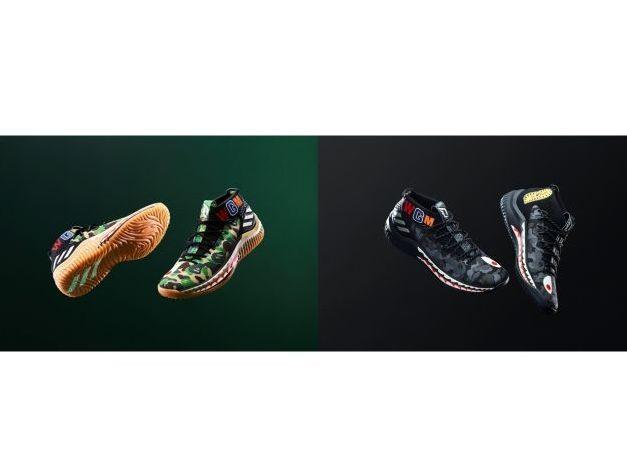 アディダスがコラボシューズ「adidas Basketball by BAPE DAME 4」を発売!