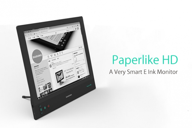 E Inkパネルを採用したPC用セカンドモニター「Paperlike HD」が発売!