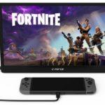 Nintendo Switch対応15.6インチモバイルモニター「C-Force CF011」が発売!