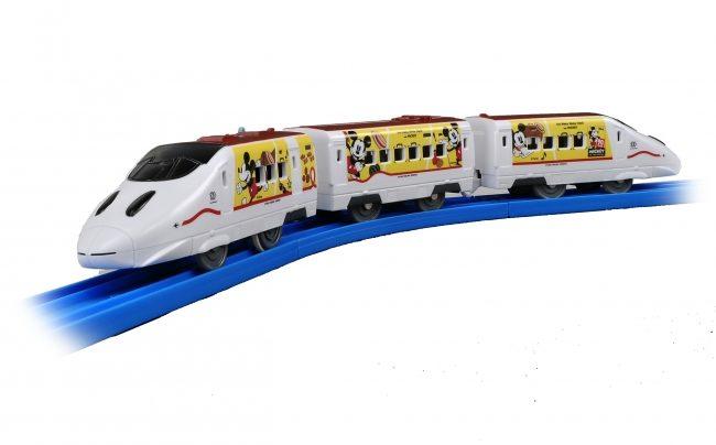 「JR九州Waku Waku Trip新幹線」デザインのプラレール