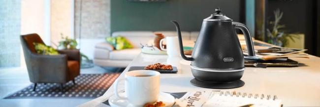「デロンギ アイコナ 電気カフェケトル」が置かれている部屋のイメージ