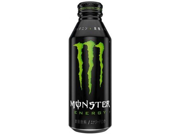 「モンスターエナジー」に便利な大容量473mlボトル缶が登場!ヘビーユーザー必見