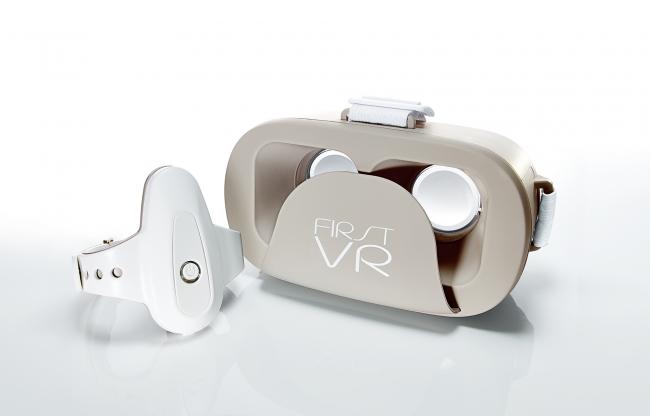 アームバンド型コントローラとVRゴーグルのセット「FirstVR」が凄い!