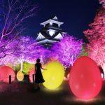 「チームラボ 高知城 光の祭」が開催決定!高知城が光のデジタルアート空間に