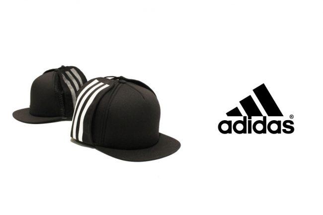 GALLERIEがadidas別注アイテム「adidas 3LINE FLAP CAP」をリリース