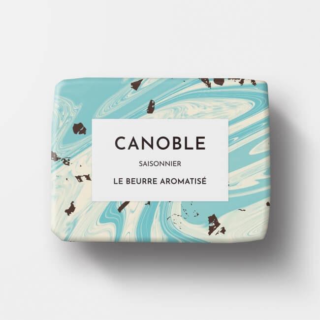 バター「ブールアロマティゼ チョコミント」のパッケージ
