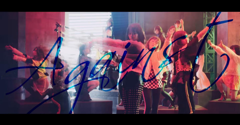 乃木坂46の新曲「Against」のミュージックビデオのワンシーン