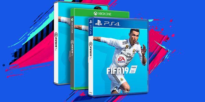 『FIFA 19』のパッケージ