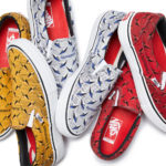 Supreme x Vans DIAMOND PLATE SLIP-ON Pro