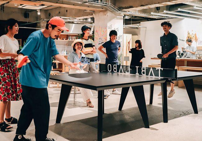 ミーティングテーブルにもなるオフィス向け卓球台「T4 OFFICE」が発売!