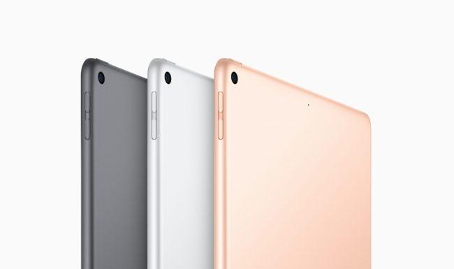新型「iPad Air」の背面