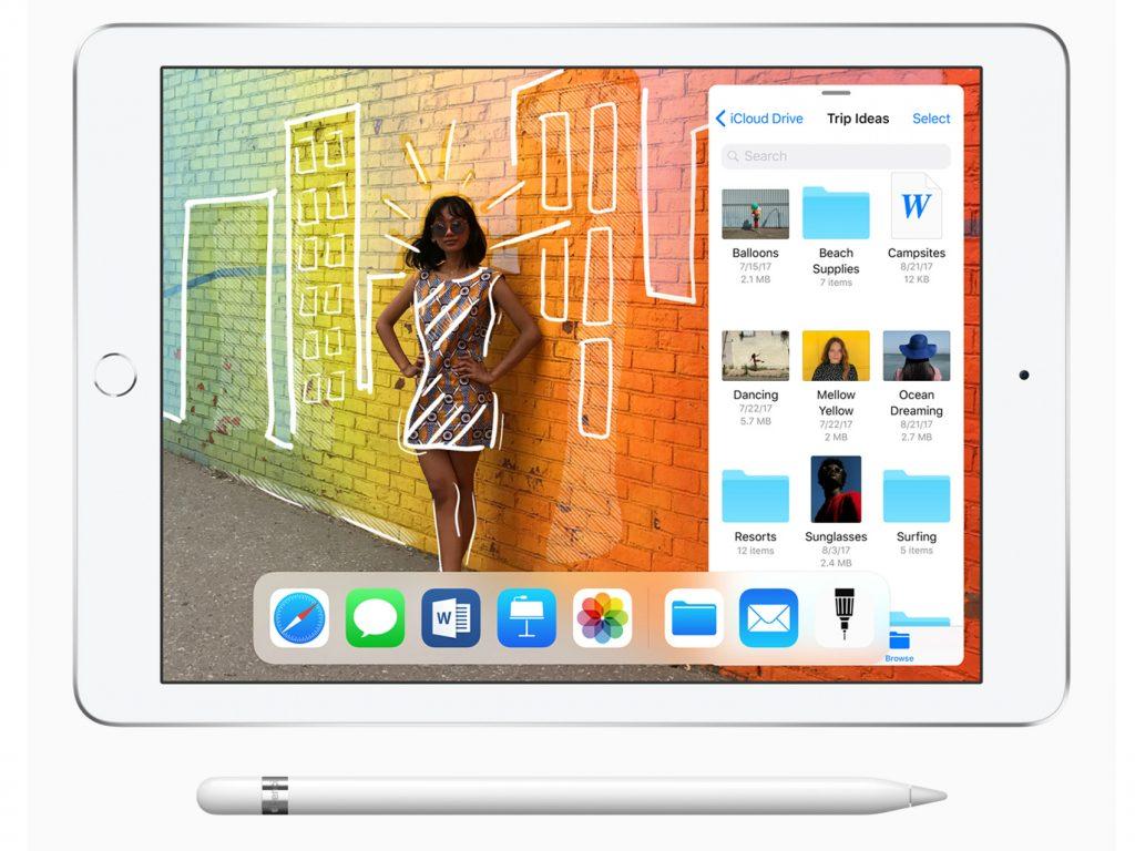 Appleが新型「iPad(2018)」を発表!ApplePencilに対応しRetinaディスプレイを採用