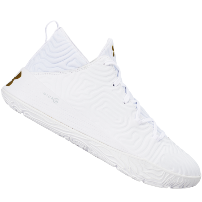 UA ニホン3(White / White / Metallic Gold)