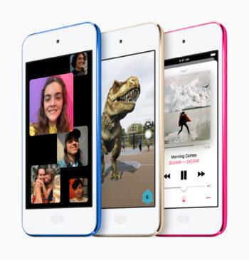 iPod touch(第7世代)のカラーバリエーション