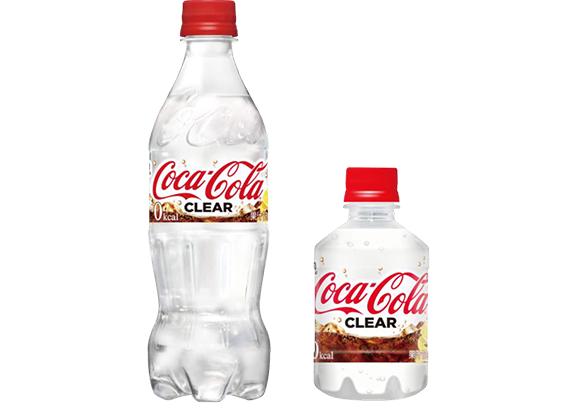 透明なコーラ「コカ・コーラ クリア」が発売!強い炭酸とレモンの刺激が特徴