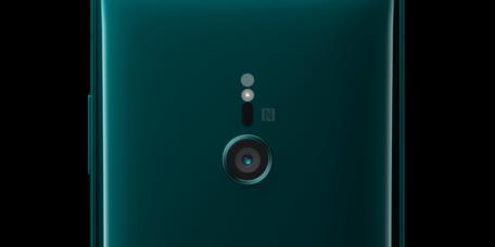 「Xperia XZ3」のカメラレンズ