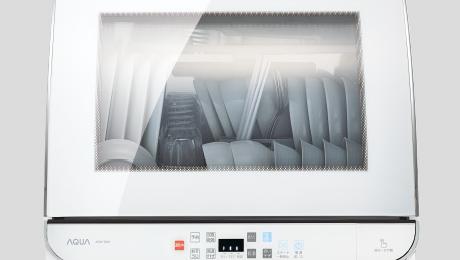 「ADW-GM1」で食器を乾燥している様子
