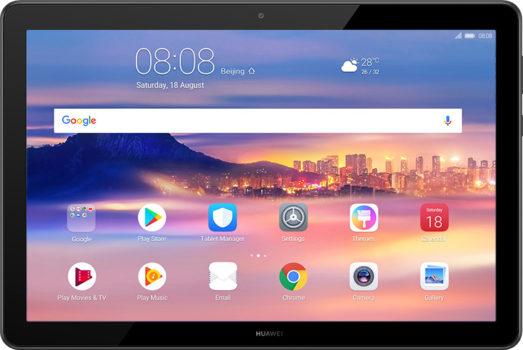 「HUAWEI MediaPad T5」のフロントイメージ