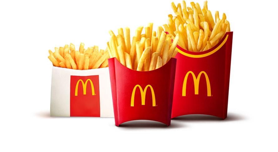 マクドナルドの「マックフライポテト」が8月20日から全サイズ150円に