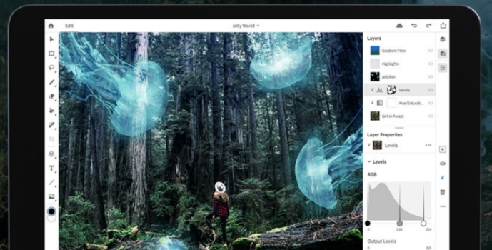 iPad版Photoshop CC