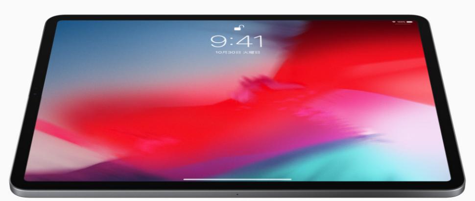 新型iPad Proのディスプレイ
