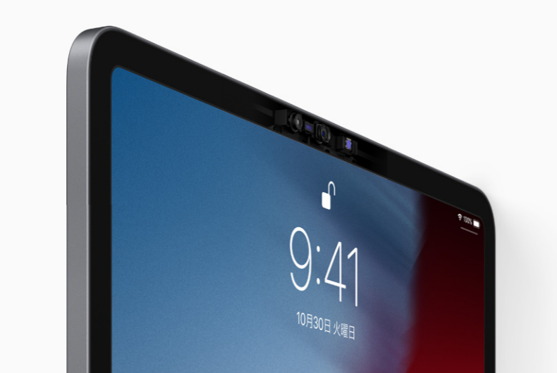 新型iPad ProにはFaceIDが搭載