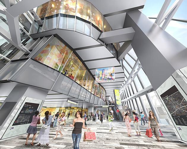 渋谷スクランブルスクエア アーバン・コア Shops & Restaurants
