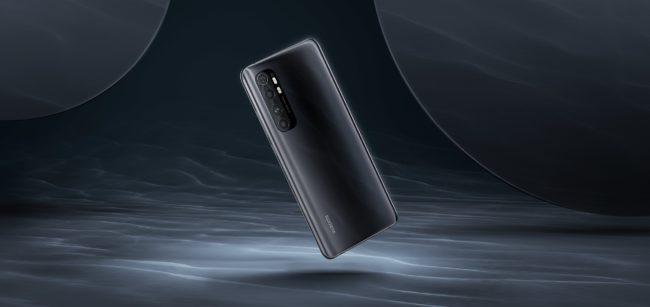 Xiaomi Mi Note 10 Lite(日本モデル)のインターステラーグレー