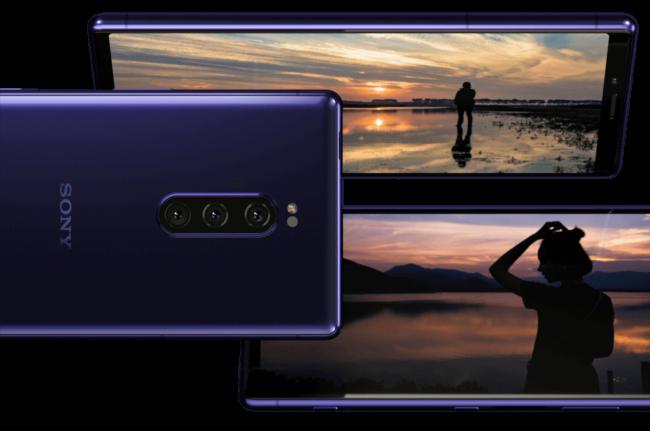 「Xperia 1(SOV40)」のトリプルレンズカメラ
