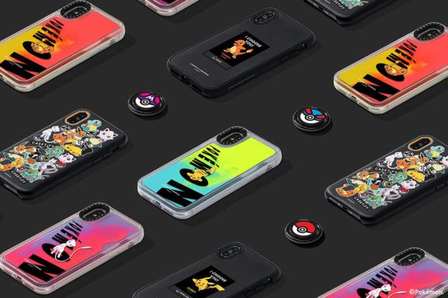 CASETiFY & Pokémon「Day & Night」コレクションのiPhoneケースのラインナップ