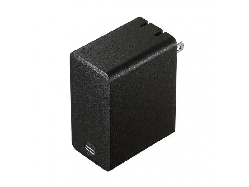 USB Type-Cポート搭載充電器「ACA-PD58BK」ならノートPCもスマホも充電可能!